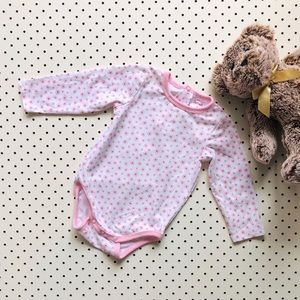Baby girl size 00 SPROUT Onesie w/ long sleeves